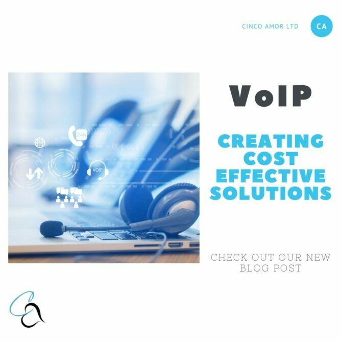 VoIP helps save money.
